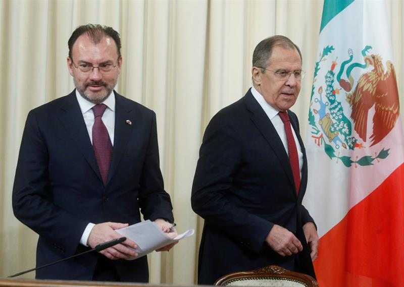 "Lavrov denounces ""speculation"" the possible Russian interference in the elections in Mexico"
